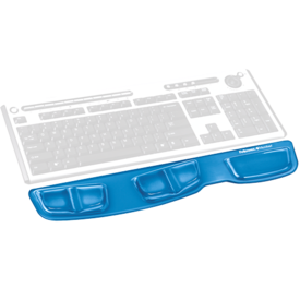 Supporto palmare da tastiera Health-V™ Crystal - Blu__9183101_Hero_wKeyboard_blue.png