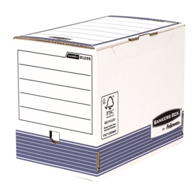Bankers Box® System 200mm A4 Archivschachtel - Blau__BB_SystBlue200mmA4TransFile_00285_LF.png