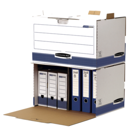 Bankers Box&#174; System Storage Container - Blue__BB_SystBlueContainerStack_00299_LF.png