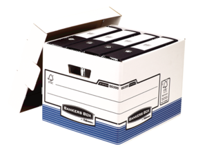 Caisse pour archives à charge lourde R-KIVE bleue__BB_SystBlueRKiveBoxOpenFolderA4_00399_LF_b.png