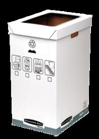 Cestino riciclaggio rifiuti Bankers Box System__BB_SystGreyRecycleBin_01932_LF.png