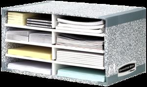 Archiviatore da scrivania Bankers Box System - Grigio__BB_SystGreySystDeskSorter_08750_LF.png
