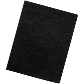 Executive Presentation Covers - Oversize, Black, 50 pack__Exec Black Ovr LF.png