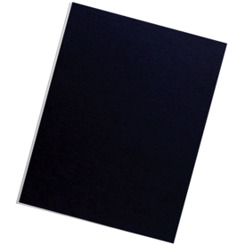 Futura™ Presentation Covers  - Letter, Navy, 25 pack