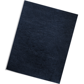 Classic Grain Presentation Covers - Letter, Navy, 200 pack