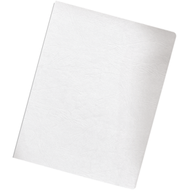 Presentation Covers - Oversize Letter, White, 50 pack__Grain White Ovr LF.png