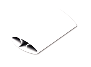 I-Spire Series Flex Poggiapolso Oscillante (Blanco)__ISpireWristRockerWhite_9393301_RH.png