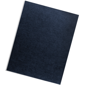 Linen Presentation Covers - Letter, Navy, 50 pack