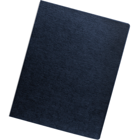 Linen Presentation Covers - Oversize Letter, Navy, 50 pack