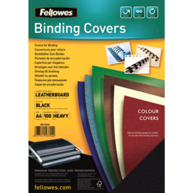 FSC Certified Leathergrain Covers - Black A4__leathergrain_front_53704.png