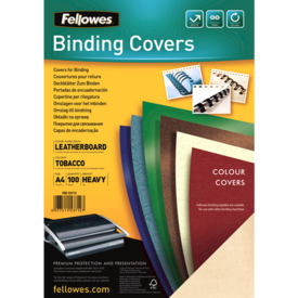 FSC Certified Leathergrain Covers - Tobacco A4__leathergrain_front_53712.png