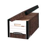 Bankers Box® Systematic® - Letter/Legal, Woodgrain