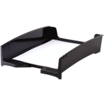 Corbeille à courrier empilable Green2Desk - Noir__00083_G2D_LetterTray_Blk_LH_b.png