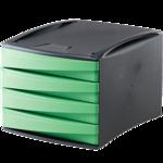 Module 4 tiroirs Green2Desk - Vert__00190_G2D_Drawer_Grn_LF.png
