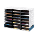 Bankers Box® Literature Sorter - Letter, 21 Compartment
