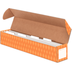 Bankers Box® Sentence Strip Storage Box w/4 Dividers