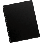 Futura™ Presentation Covers  - Letter, Black, 25 pack__52249.png