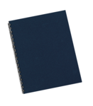 Futura™ Presentation Covers  - Letter, Navy, 25 pack__5225001.png