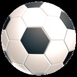 Brite Mat rotondo - Pallone da calcio__5880901.png
