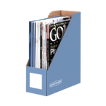 BANKERS BOX® Decorative Magazine Files, Letter, Cornflower Blue__61101.png