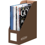 BANKERS BOX® Decorative Magazine Files, Letter, Mocha Brown__61301.png
