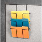 Wire Partition Additions™ Triple File Pocket