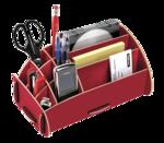 Portaoggetti da scrivania Earth Series™ - Rosso__80126_hero.png