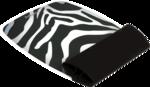 Silikon Handgelenkauflage - Motiv Zebra__9362301_SiliconeWristRockerZebra.png