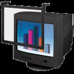 """Standard Filter Trad Tint - 16/17"""", Black Frame"""
