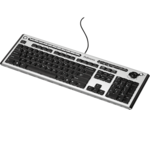 Microban® Slimline Keyboard