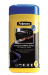 Fellowes® 100 Antibacterial Surface Cleaning Wipes__AntiBacSurfaceWipes_22109_F.png