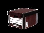 Caisse pour archives standard Bankers Box® Premium 725 coloris bois__BB_PremClassicStorBox_72505_WG_LF.png