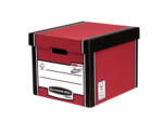 Bankers Box® Premium Hohe Archivbox - Rot__BB_PremTallStorageBoxREDClosed_72607_LF.png