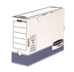 Bankers Box® System Folio Archivschachtel 100mm - Blau__BB_SystBlueTransFileClosed_00308_LF.png