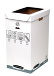 Bankers Box&#174; System Recycle Bin__BB_SystGreyRecycleBin_01932_LF.png