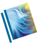 "Thermal Presentation Covers - 1/4"", 60 sheets, Blue__Blue Thermal 2up RF.png"