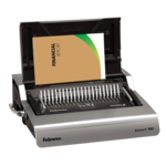 Galaxy™ E 500 Electric Comb Binding Machine w/ Starter Kit__GalaxyE_hero_right_wpaper_022015.png