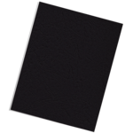 Classic Grain Presentation Covers - Letter, Black, 25 pack__Grain Black Ltr LF.png