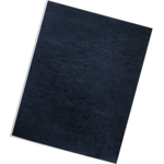 Classic Grain Presentation Covers - Letter, Navy, 50 pack__Grain Navy Ltr LF.png