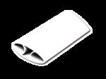 I-Spire Series Flexible Handgelenkauflage (weiß)__ISpireWristRockerWhite_9393301_RH.png