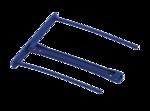 Clips pour archives avec poignée de transfert Bankers Box® - 100 mm - Bleu - 50 pk__ProClipBlue_00898_RF.png