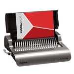 Quasar™ E 500 Electric Comb Binding Machine w/ Starter Kit__QuasarE_hero_right_w-paper_022315.png