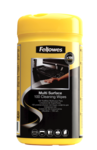 Fellowes® 100 Surface Cleaning Wipes__SurfaceWipes_99715_F.png