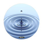 Brite Mat rotondo - Onde__WaterDrop_MouseMat_58017_F.png