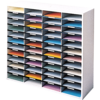 Literature Organizer - 48 Compartment, Letter, Dove Gray__25081.png