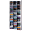 Literature Organizer - 72 Compartment, Letter, Dove Gray__25121.png