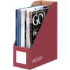 Bankers Box® Persimmon Red Magazine Files - Letter