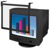 """Standard Filter Trad Tint - 19/21"""" Black Frame"""