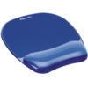 Gel Mousepad/Wrist Rest - Crystals, Blue