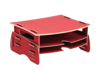 Soporte de Monitor Earth Series™ Rojo__EarthMonitorRiserRed_80150_RH.png